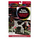 Colour-Reveal - Farm animals