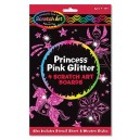 Scratch art - Princess pink glitter