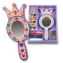 Wooden Princess mirror