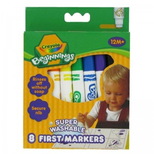"""Crayola- Feutres """"First Markers"""""""