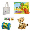 Coffret-cadeau enfant-Zazopack Tiwa Fun Jungle 18m+